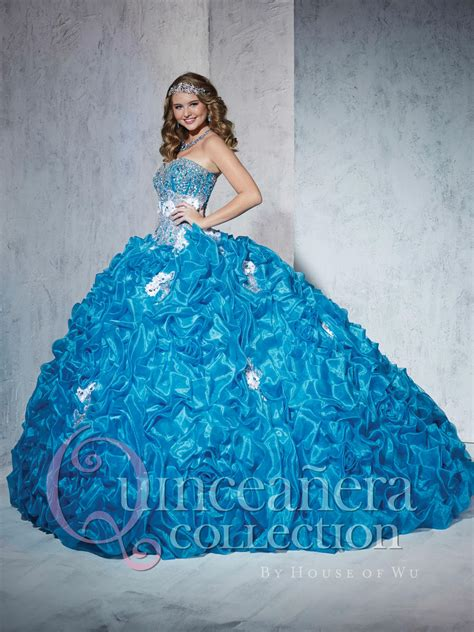Quinceanera by House of Wu 26778 Ballgown: French Novelty