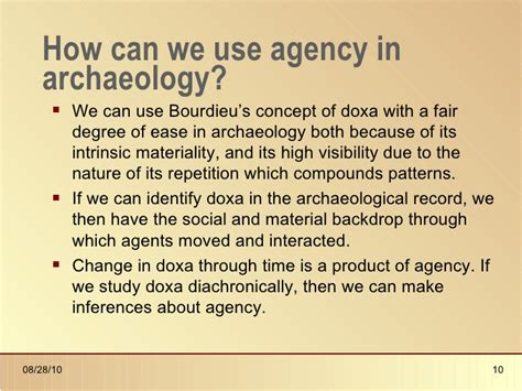 Agency in archaeology_presentation
