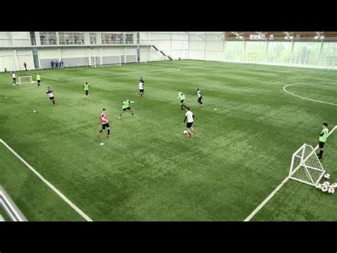 How to perfect the possession game | Soccer passing drill