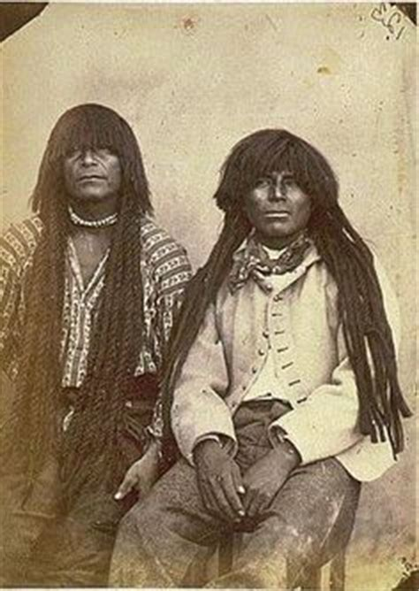 Native American Men with dreadlocks and twists