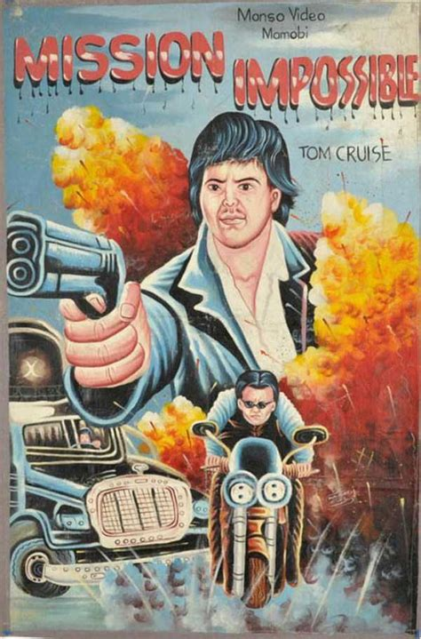 Weirdly Awesome Hand-Painted Movie Posters from Ghana
