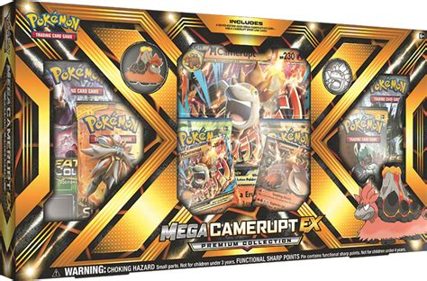 Pokemon Mega Camerupt-EX Collection Box- English Only