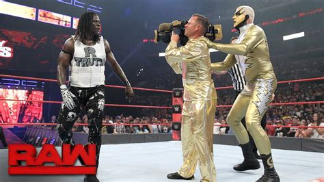 """Goldust debuts """"The Shattered Truth"""" in Hollywood: Raw"""