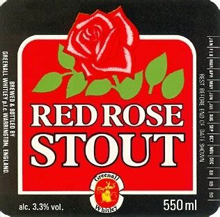 RED ROSE STOUT